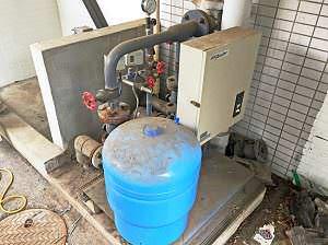 既設給水ポンプユニット