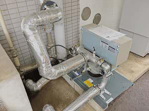 新給水ポンプユニット設置、配管