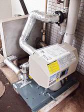 新給水ポンプユニット設置、完成