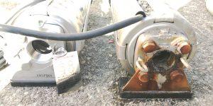 瀬谷区にて給水ポンプの交換工事