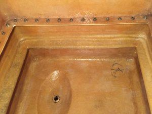 清掃完了後の地下受水槽