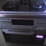 工事完了です!最新のコンロとオーブンになりました。