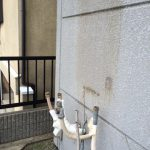 古い給湯器を撤去