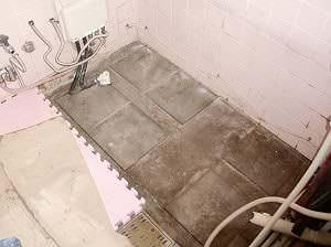 浴槽を撤去