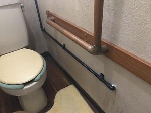 洗面台への配管