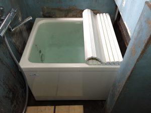 新しくなった浴槽